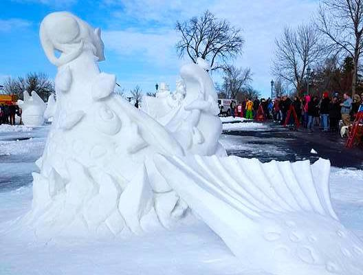 Saint Paul Winter Carnival Snow Sculpting