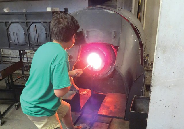 Glass Blowing at Minnesota Center for Glass Arts
