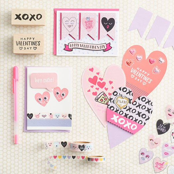 Paper Source Valentines