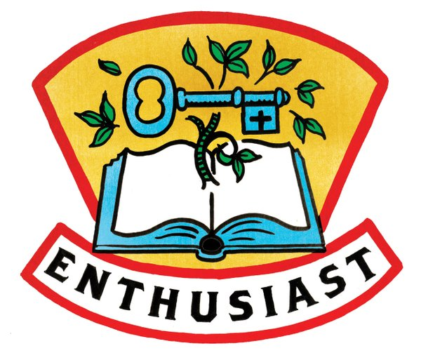 Enthusiast badge