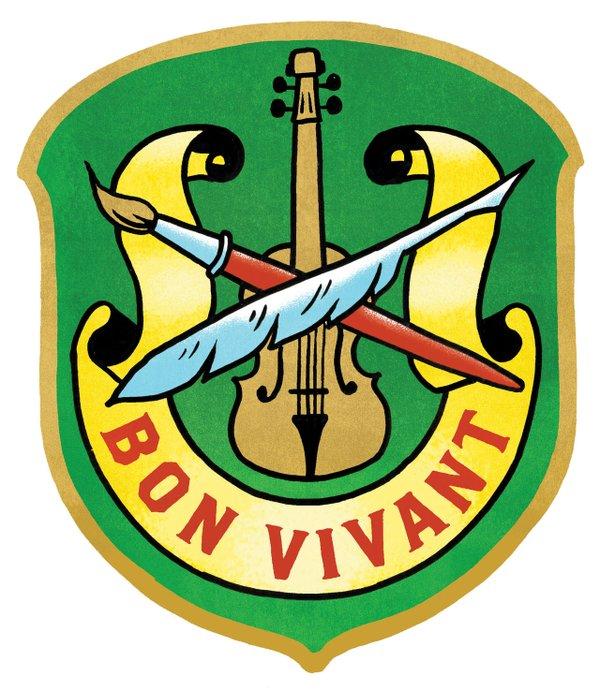 Bon Vivant badge