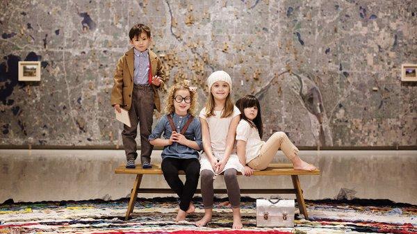 Kids at Walker Art Center