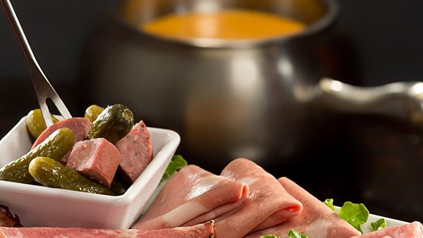 Premier dippers and cheese fondue at Melting Pot