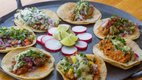 Taco options at Nico's Taco and Tequila Bar in Uptown Minneapolis