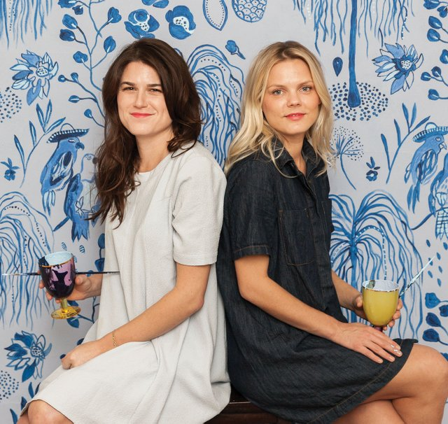 Jennifer Jorgensen and Kate Worum of SheShe