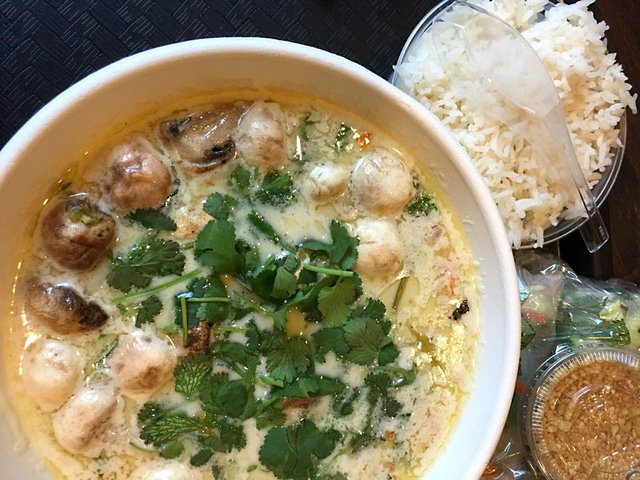 Tom Kha Soup at Pad-Ga Pow