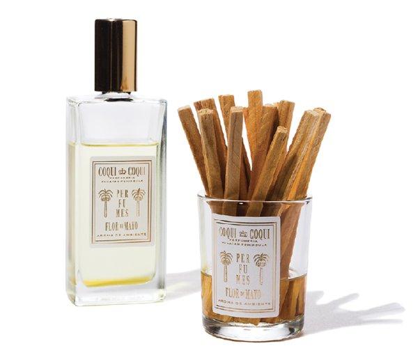 Flor de Mayo room fragrance, by Coqui Coqui