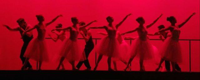 A Scene from St. Paul Ballet