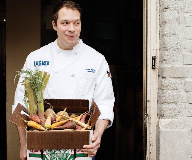 Chef Alan Bergo of Lucia's