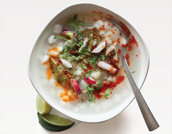 Pozole at Maya Cuisine