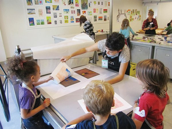 Free Ink Day at Highpoint Center for Printmaking