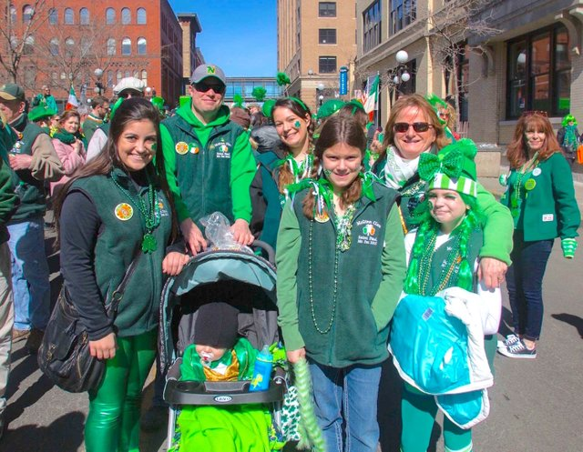 St. Patrick's Day Family