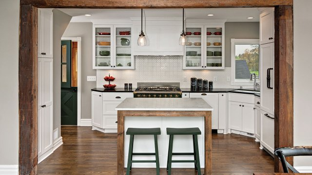 True Farmhouse Kitchen in Watertown