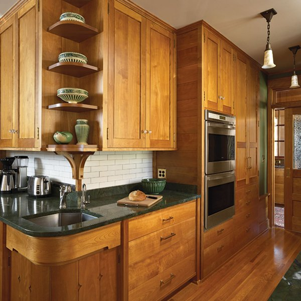 Historic Kitchen on Lake Minnetonka cabinets