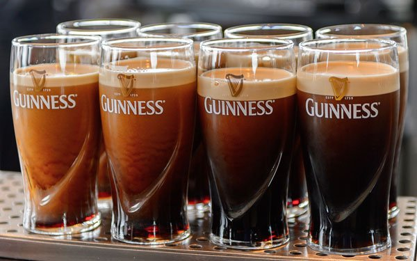 Glasses of Guinness Beer - Shutterstock