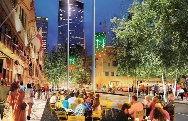 Nicollet Mall rendering