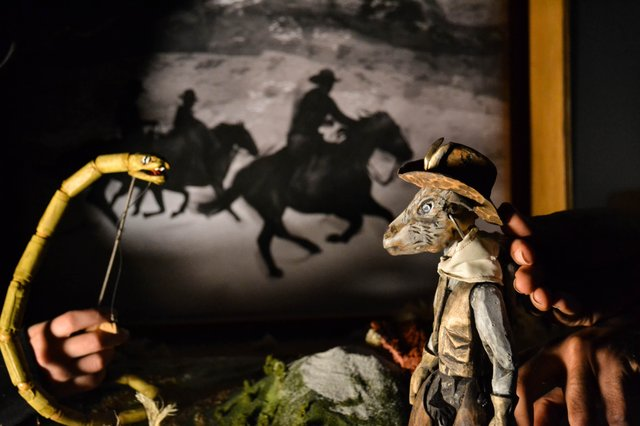 The Death and Life of Billy The Kid_Open Eye Figure Theatre