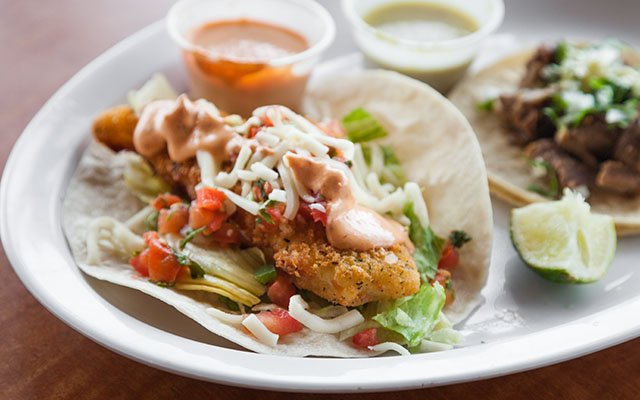 Andale's fish tacos