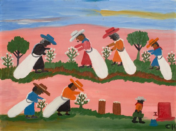 Picking Cotton by Clementine Hunter
