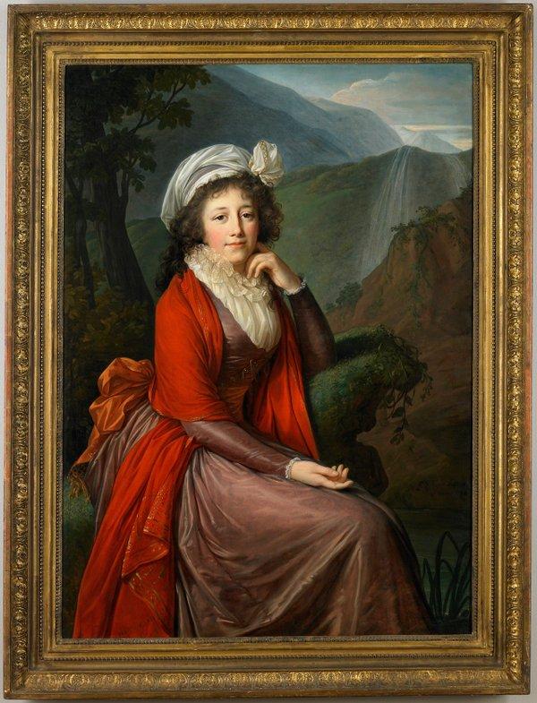 Portrait of Countess Maria Theresia Bucquoi, née Parr by Élisabeth Louise Vigée-LeBrun
