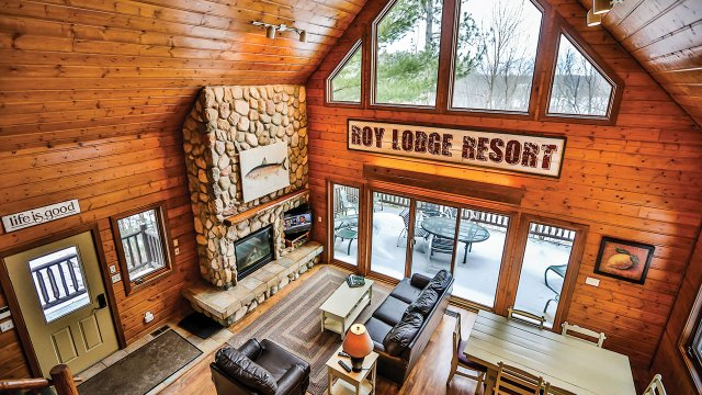 Grand View Lodge Roy Villa