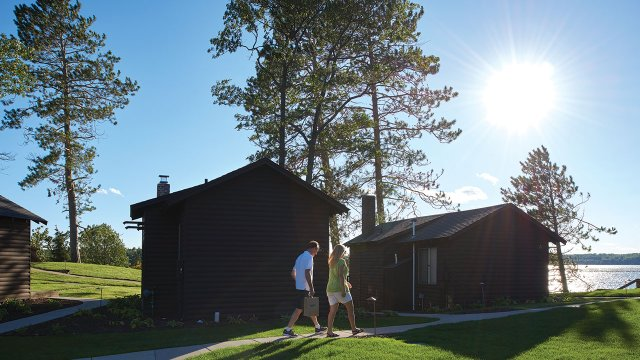 Madden's on Gull Lake cabins