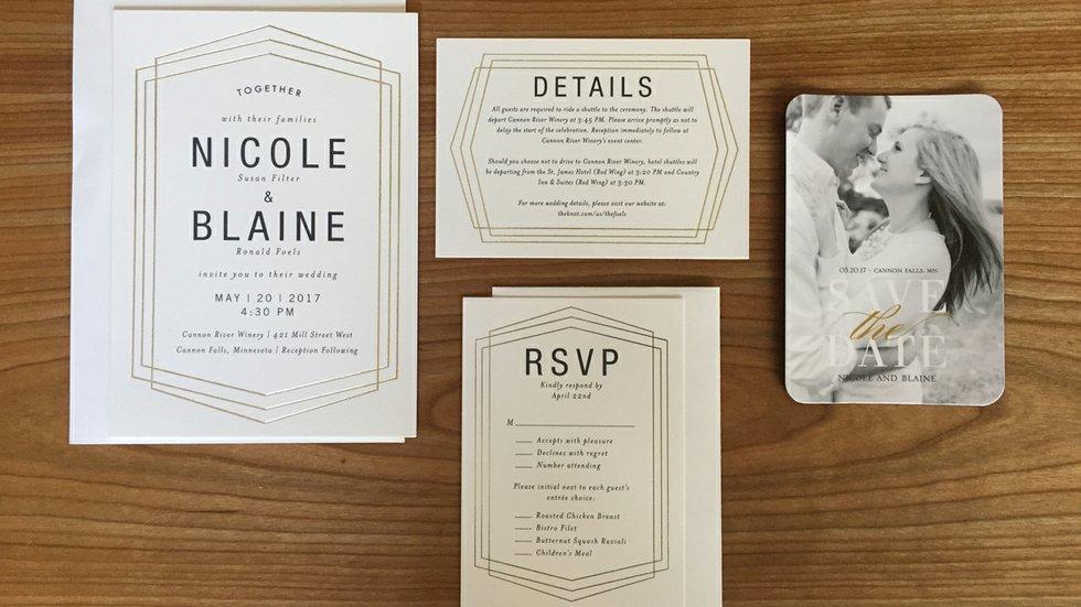Real Bride Nicole Chooses Wedding Invitations - Mpls.St.Paul Magazine