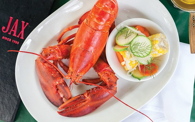 Jax Café's lobster