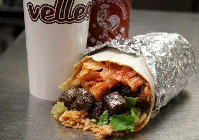 Vellee Deli Burrito