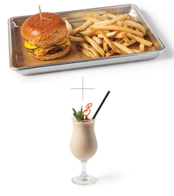 Freehouse-Brew-Burger-and-Brandy-Alexander--at-Bottle-Rocket