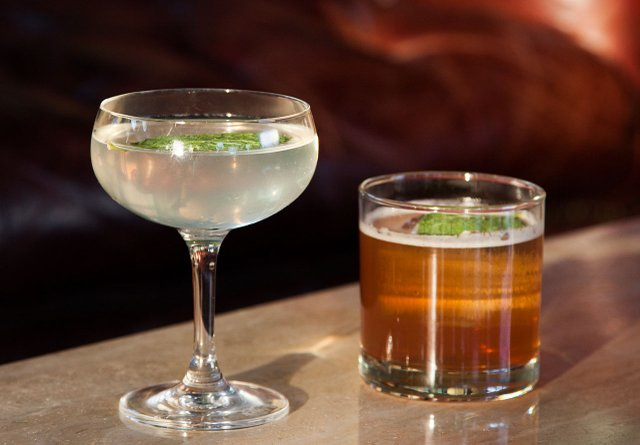 Cocktails at Tattersall Distilling