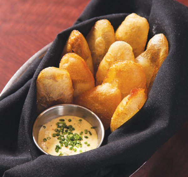 Souffle potatoes at the Lexington