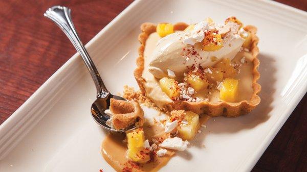 Pineapple tart at the Lexington