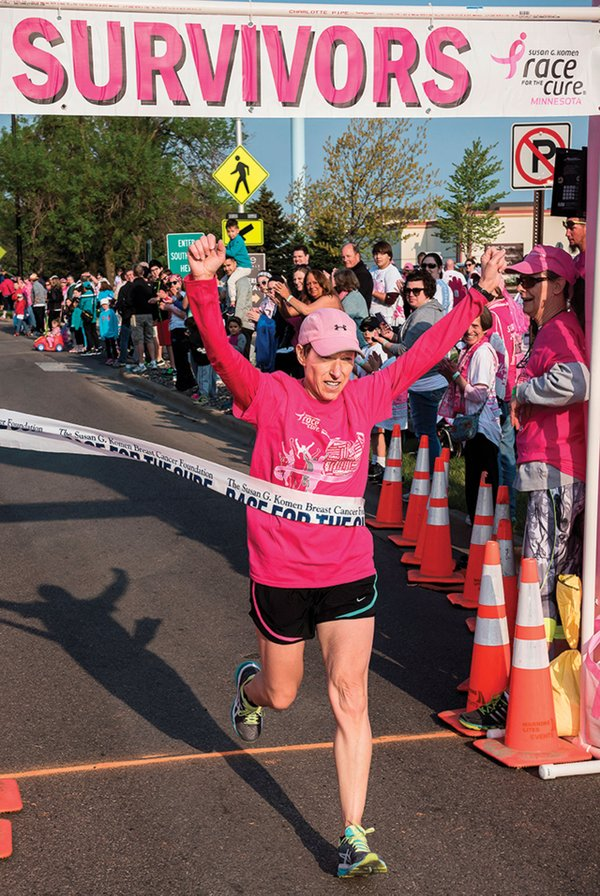 The Susan G. Komen Breast Cancer Foundation Race for the Cure