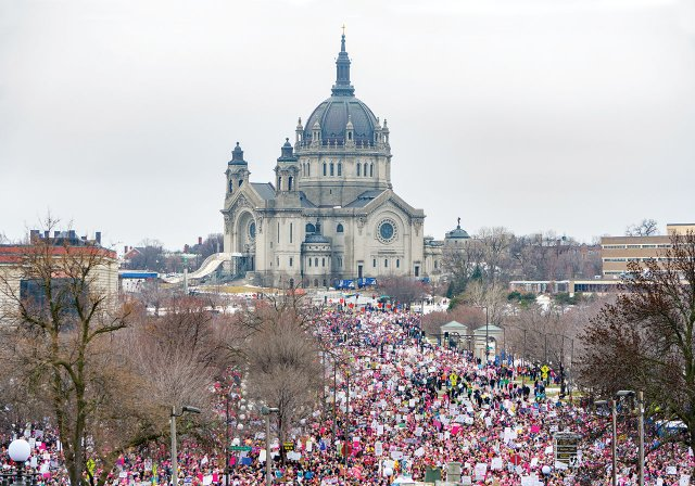 Women's March in St. Paul