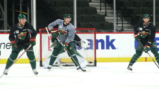 Wild hockey player Mikko Koivu