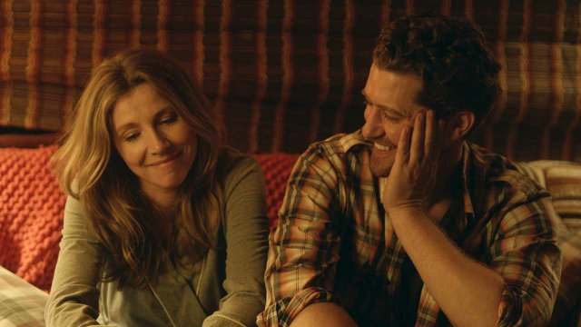 Sarah Chalke and Matthew Morrison in After the Reality