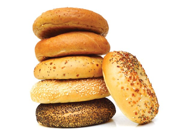 Stack of Bagels