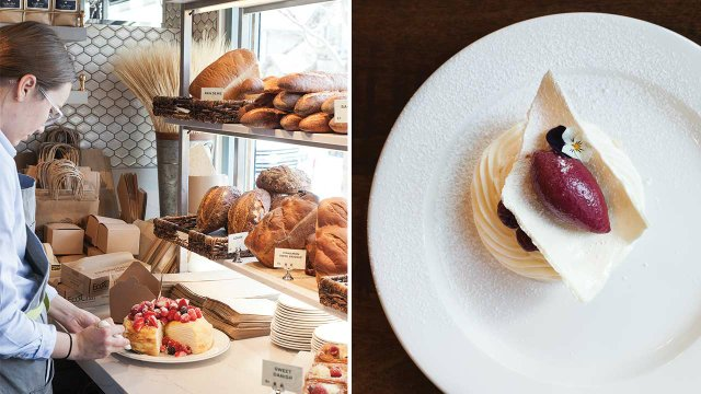 The bakery and dessert at Bellecour