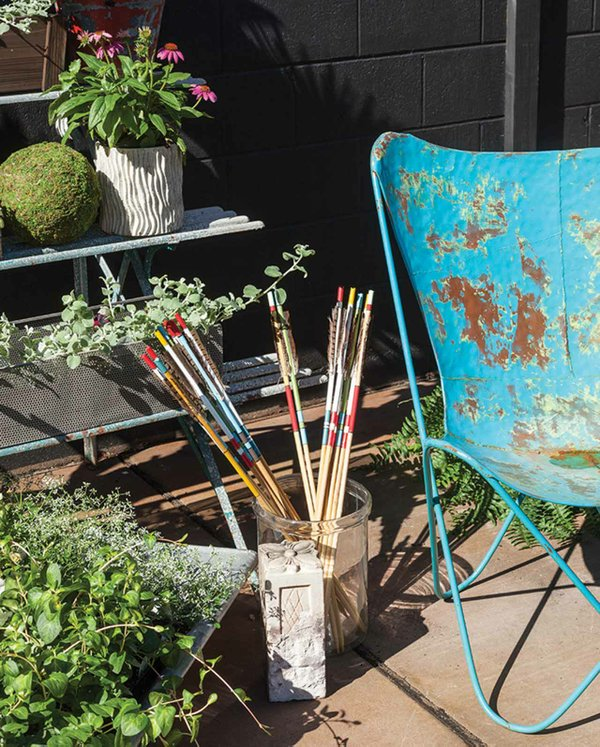 Plants and chair at Ciel Loft & Home
