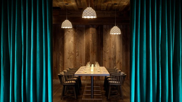 Private dining at FireLake at Mall of America