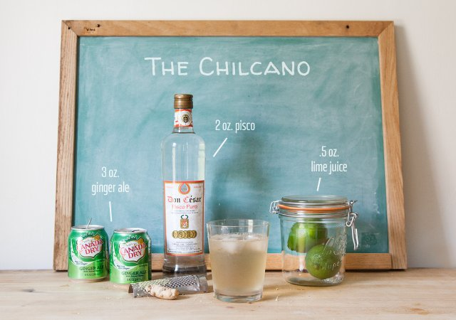 Summer Drinks the Chilcano