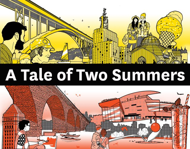 A Tale of Two Summers illustration