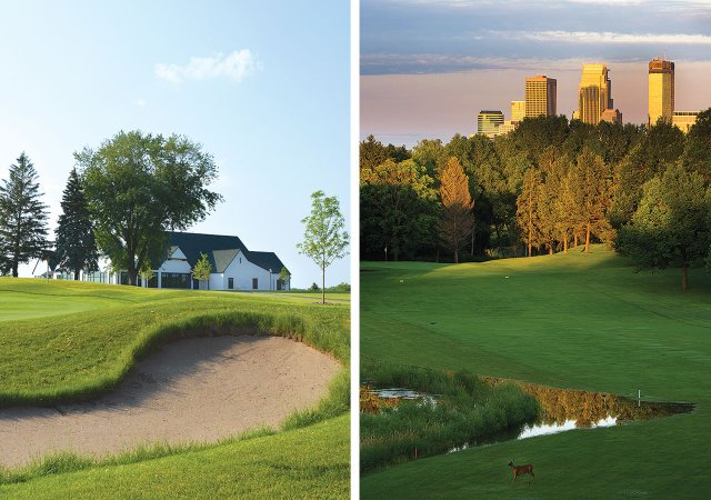 Twin Cities golf courses