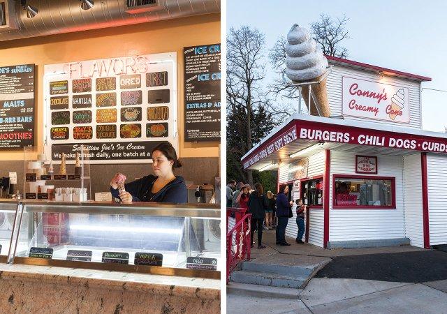 Sebastian Joe's and Conny's Creamy Cone