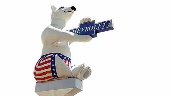 Chevrolet polar bear
