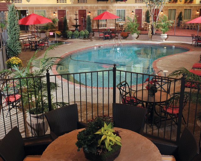 Pool at the Best Western Plus White Bear Country Inn
