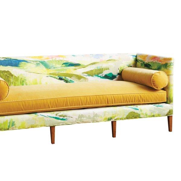 Paintbrush tuxedo sofa
