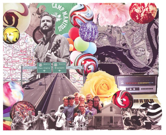 Bon Iver collage