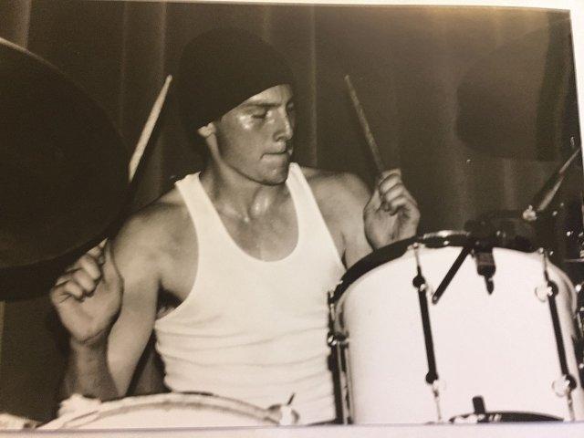 Sled Napkin drummer Joe Christopherson